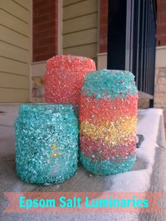 Play Eat Grow: Epsom Salt Luminaries