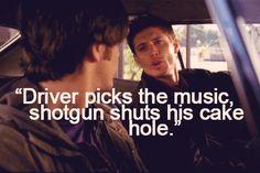 Supernatural Funny Quotes dean