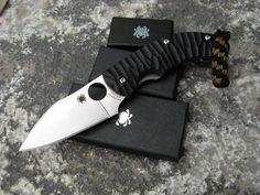Spyderco Folding Pocket Knife