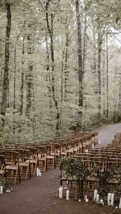 Whimsically Wooded RT Lodge Wedding Stunning Woodland Wedding in Great Smoky Mountain National Park. The post Whimsically Wooded RT Lodge Wedding & Illustration/Photography/Art appeared first on Forest party theme . Rustic Wedding Venues, Lodge Wedding, Wedding Ceremony Decorations, Wedding Locations, Wedding Ceremonies, Chic Wedding, Wedding Bride, Woods Wedding Ceremony, Wedding Reception