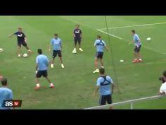 Entrenamiento de fútbol a alta intensidad (Diego Simeone) - YouTube