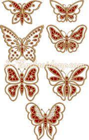 Картинки по запросу вышивка ришелье бабочка