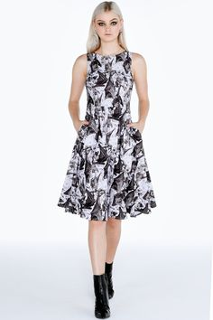 Cave Dwellers Princess Midi Dress – 7 DAY UNLIMITED ($130AUD) by BlackMilk Clothing