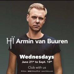 ARMIN VAN BUUREN New Resident At HÏ – IBIZA!!