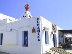 Sifnos pottery shop GREECE