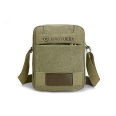 X-Online 032917 hot sale man small canvas bag men shoulder bag #Affiliate