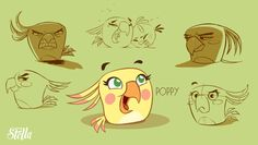 angry birds stella poppy