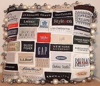 Label Love Pillow