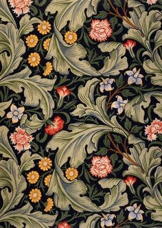 Wallpaper design by William Morris | Victoria & Albert