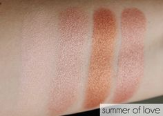 I ♡ Makeup Blushing Hearts -Hot Summer Of Love SWATCH 2