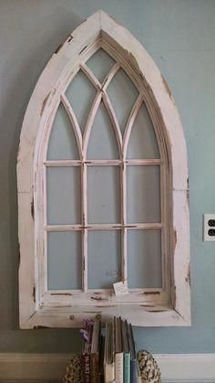 Diy Fixer Upper Cathedral Window Frame Fixer Upper