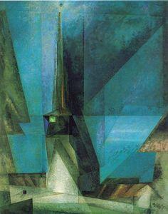 Lyonel Feininger, Gelmeroda XIII, 1936