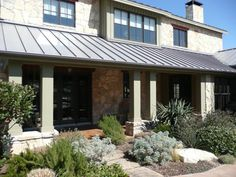 Entry, Texas Hill Country style home