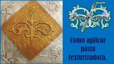 Como aplicar pasta para dar textura con Ricardo Guerra.