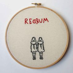 This Shining embroidery art because Danny Torrance is their spirit animal.