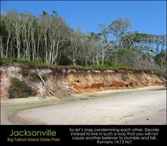 Humbly Serving Christ posted a photo:  Bluffs created by years of erosion form the backdrop to a stretch of beach in Jacksonville's unique Big Talbot Island State Park.  ABOUT JACKSONVILLE & ITS BEACHES:  I am a native resident of the unique coastal metropolis of Jacksonville. With more than 850,000 residents living within its limits, Jacksonville is Florida's largest city and the 12th largest city in the United States. In many ways defined by its aquatic setting, Jacksonville is bisected by…