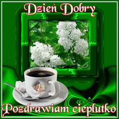 Wiersze,Gify Na Dzień Dobry ...: Gify na dzien dobry - herbata , kawa Love Heart Images, Coffee Images, Good Morning, Lily, Humor, Pattern, Pictures, Motto, Fotografia
