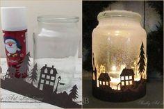 Elképesztő dolgot készített hóspray segítségével egy befőttesüvegből