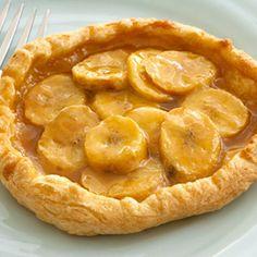 Pepperidge Farm® Puff Pastry - Recipe Detail - Caramel Banana Tarts
