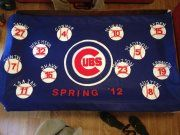 Banner for Austin's T-ball team made by our team mom (Amy)