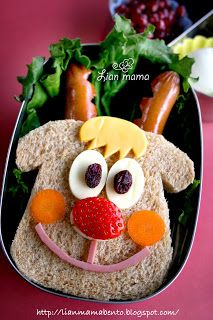 Lian Mama Obento: 2009-12-15Reindeer Rudolph: Peanut butter and Jell...
