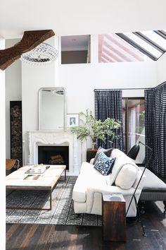 Sofa + Lamp combo is genius