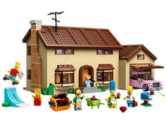 D'oh! The Simpsons™ House has been turned into LEGO® bricks!