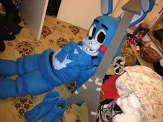 Toy Bonnie costume by agenttisuola on DeviantArt