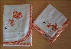 Fralda de Banho: Confeccionada em tecido fralda com 04 camadas para melhor…