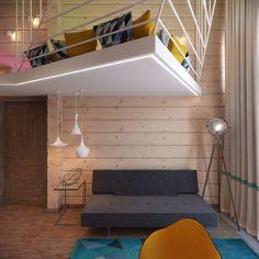 Wood flooring, creative top floor room with wood accents 5