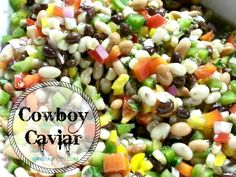 Texas Caviar Used to hate this when mom made it- but now that I love beans- I love this!!!! So addicting!