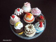 Arts And Crafts Hobbies Crochet Cake, Crochet Fruit, Crochet Baby Toys, Crochet Food, Free Crochet Doily Patterns, Crochet Doilies, Cheap Hobbies, Hobbies And Crafts, Felt Cake