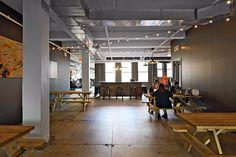 BRDesign | Elite Daily Workplace Architecture Interior Design Fun Cool Office Lighting Concrete Cafe & Cool Office Cafe | BRDesign | Cache | Interior Design | Office ...