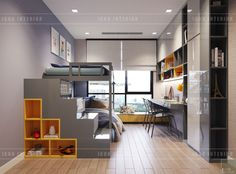 Park 2 Vinhomes Central Park: VIẾT CÂU CHUYỆN VỀ TỔ ẤM Teen Bedroom Designs, Kids Bedroom, Teenage Room, Acacia, Central Park, Multifunctional, Kids Rooms, Teenagers, Conference Room