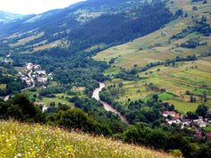 village Apuseni mountains Romania Carpathians