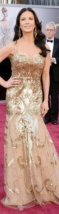 Katherine Zeta Jones at the 2013 Academy Awards - Zuhair Murad - Haute Couture Spring 2013