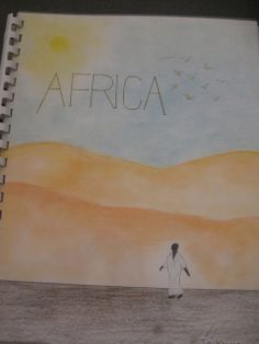 Waldorf ~ 7th grade ~ Geography ~ Africa ~ Title Page