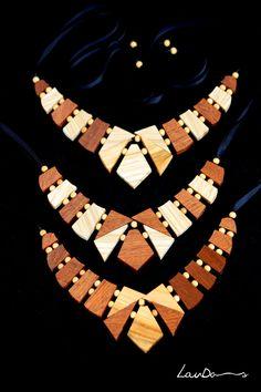 Collares de madera | LaudasCalamity