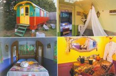 Gypsy Caravan at the Mas dou Pastre Bed and Breakfast in France