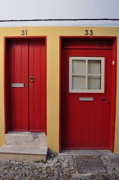 Portas em Coimbra, Portugal RePinned by : www.powercouplelife.com