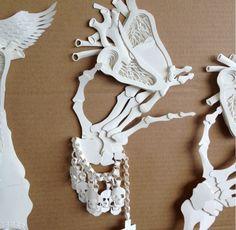 paper anatomy! paper art