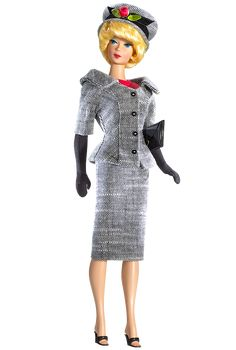 Looking for the Career Girl Barbie Doll? Immerse yourself in Barbie history by visiting the official Barbie Signature Gallery today! Barbie I, Barbie World, Barbie And Ken, Barbie Clothes, Barbie Style, Red Turtleneck, Poppy Parker, Vintage Barbie Dolls, Little Doll