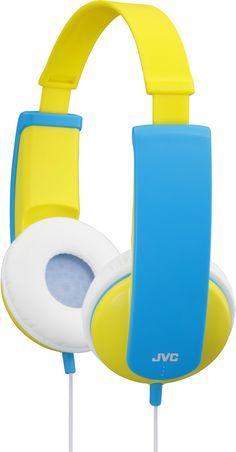 """JVC """"tinyphones"""" Kid's Headphones - Yellow"""