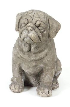 """Pack of 2 Garden Getaway Pug Decorative Dog Statues 13"""" by CC Home Furnishings. Save 17 Off!. $99.99. From the Garden Getaway CollectionItem #42186Celebrate your favorite furry friends with these pug dog statuesFor indoor or outdoor useDimensions: 13""""H x 8.5""""W x 12.5""""DMaterial(s): polyresin/stonePack includes 2 of the statue shown"""