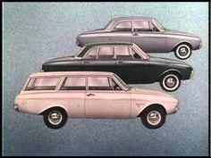Ford Taunus 17M P3 (Badewanne) Kino-Werbung