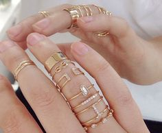 Layered rings