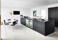 big black kitchen