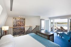 Cliff Veranda Suite - a two storey suite with an outdoor terrace