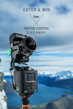 Syrp has over $3000 USD of motion control gear to give away. Enter now to be in to win a Genie 3 Axis Kit, a Genie Tracking Kit or a Genie Mini Pan Tilt Kit!
