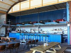 Pllek - a bar and restaurant built from used shipping containers- wow! - Awesome Amsterdam